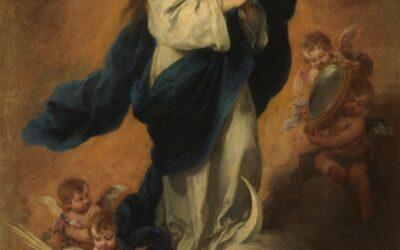 María está llena de Dios y si ella está habitada por Dios, no hay lugar en ella para el pecado